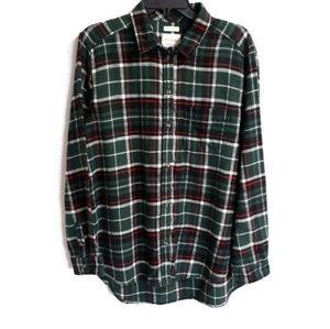 NWT American Eagle boyfriend fit flannel sz XL